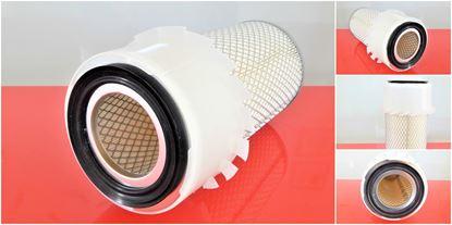 Image de vzduchový filtr do Bobcat nakladač 643 od serie 13525 motor Kubota filter filtre