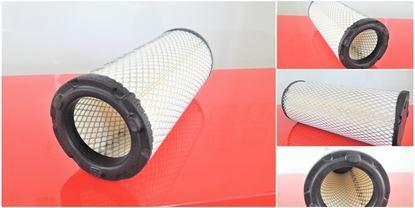 Obrázek vzduchový filtr do Case CX 75SR motor Isuzu 4JG1NA filter filtre