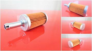 Obrázek palivový filtr s rychloupinaci koncovkou do Ammann AVP 2920 motor Hatz 1B30 filter filtre