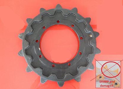 Image de pignon turas roue motrice pour Case CK25 CX28 CX30 CX31 CK28