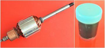 Изображение анкерный ротор Радуга D2 D3 D4 1990-1998 R1 заменить оригинальный / высококачественный ремонтный сервисный комплект / бесплатные угольные щетки и смазку