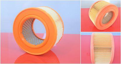 Obrázek vzduchový filtr do Bomag BW 80 AD BW 90 AD Wacker DPU 6055 DPU6055 kovová mřížka nahradí hatz 1d80 1d81 1d90 050478800 DGML 176 SL8589
