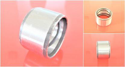 Imagen de 100x120x120 mm Buje de acero de / en el interior con ranura de lubricación / exterior liso