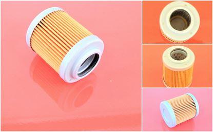 Obrázek hydraulický filtr předřídící pro Hitachi minibagr ZX 25 ZX25 motor Isuzu 3YE1 filter suP filtre