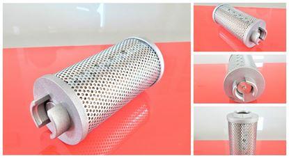 Obrázek hydraulický filtr pro Hitachi EX22-2 s motorem Kubota D1105 suP10995 Airmann Fiat-Hitachi hydraulic hydraulik filter filtre