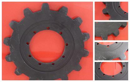 Obrázek Turas hnací ozubené kolo pro JCB JS110 JS130 Case CX130 Sumitomo LS2600