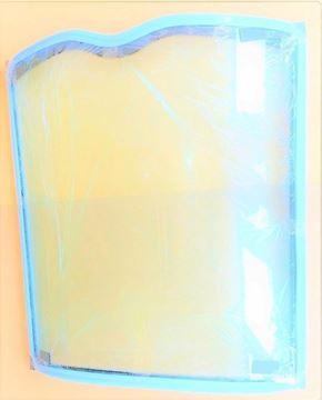 Obrázek přední sklo kabiny pro Terex TL70 TL80 TL100 TL120 Schaeff SKL824 SKL834 SKL844 kvalita