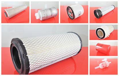 Bild von Filtersatz Filterset für JCB 407B ZX mit Motor Perkins 1004-4 Set21