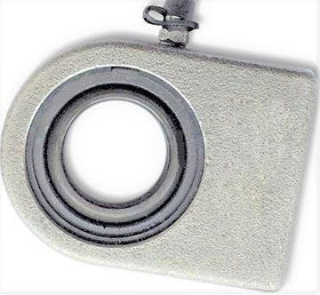 Obrázek hydraulická kloubová hlavice pro bagr nakladač stavební stroj WS30N WS 30 N 30mm Gelenkkopf k přivaření