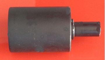 Obrázek nosní rolna horní kladka instalační šířka 110mm Type B00 pro Kubota KX101.3 KX101.3A KX61.3 KX61-3 KX101.3A2 KX101-3 KX101-3A KX101-3A2 Kobelco SK50 SK50.1 SK50SR Yanmar VIO25 VIO30 VIO35 ...