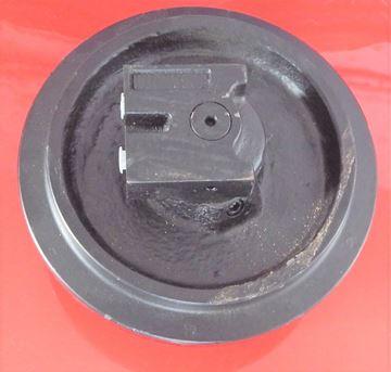 Obrázek vodící napínací kolo Idler vč. bočnic celková výška kola 200/240mm fits Kubota KH36 KH41 KX36 KX36-2 KX41 KX41-2 KX41-2A KX41-2C KX41-2S KX41-2V and others Case CX1 CK15